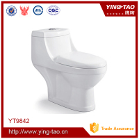 italian sanitary ware one piece ivory color toilet