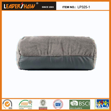 adult car booster seat pillow,microbeads tube pillow with strap