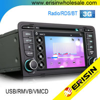 "Erisin ES7683A 7"" Special Car Audio DVD Player Rear View Camera for A3 2005"
