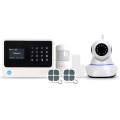 gsm alarm system support english spanish french dutch languages home alarm