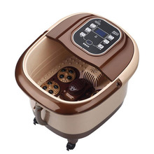 TaiChi Type Automatic Foot Massage Basin Electric Heating Feet Bath Soaking Feet Deep Bucket Pedicure Massager MT100875