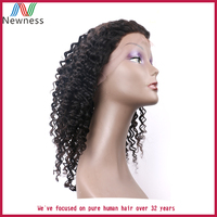 Natural Looking Curly Hair Wigs Cheap Short Virgin Brazilian Human Hair Full lace Wigs For Black Women