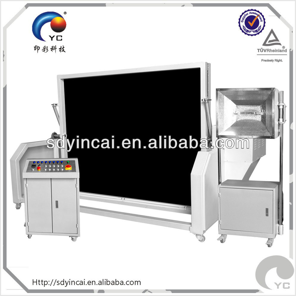 verticle pad printing screen printing exposure unit trading company