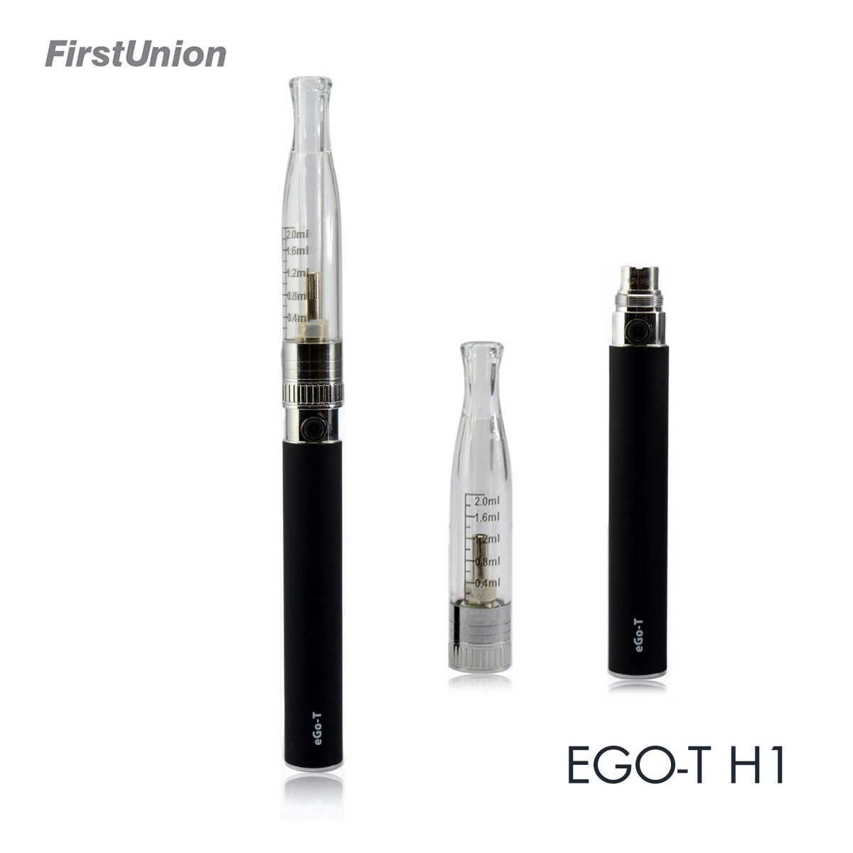 2014 hot sale vietnam electronic cigarette EGO-T H1 visible clearomizer ecigs china electronic cigarette factory