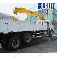 Telescopic Boom Mobile Truck Mounted Pickup Truck Crane 10 Ton