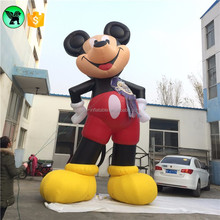 Huge Advertising 6m Inflatable Mickey Cartoon Mouse Customized Giant Mickey Inflatable Model A1256