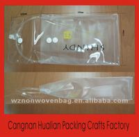 cheapest clear pvc bag for packaging (HL-110011)