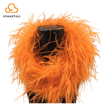 Colorful Top Quality Synthetic Ostrich Feather boa