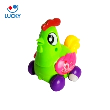 Brand new wind-up animal shape child toys plastic chicken kid toy