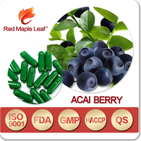Private Label Herbal Slimming Pure Acai Berry Essence Pellets Pills
