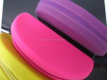 Safe Waterproof Zipper Bag Silicone Sunglass/ Eyeglasses Box Case