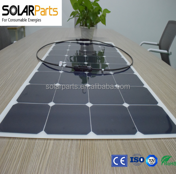 Best Price Per Watt Monocrystalline Silicon Sunpower Solar Panels 100wp