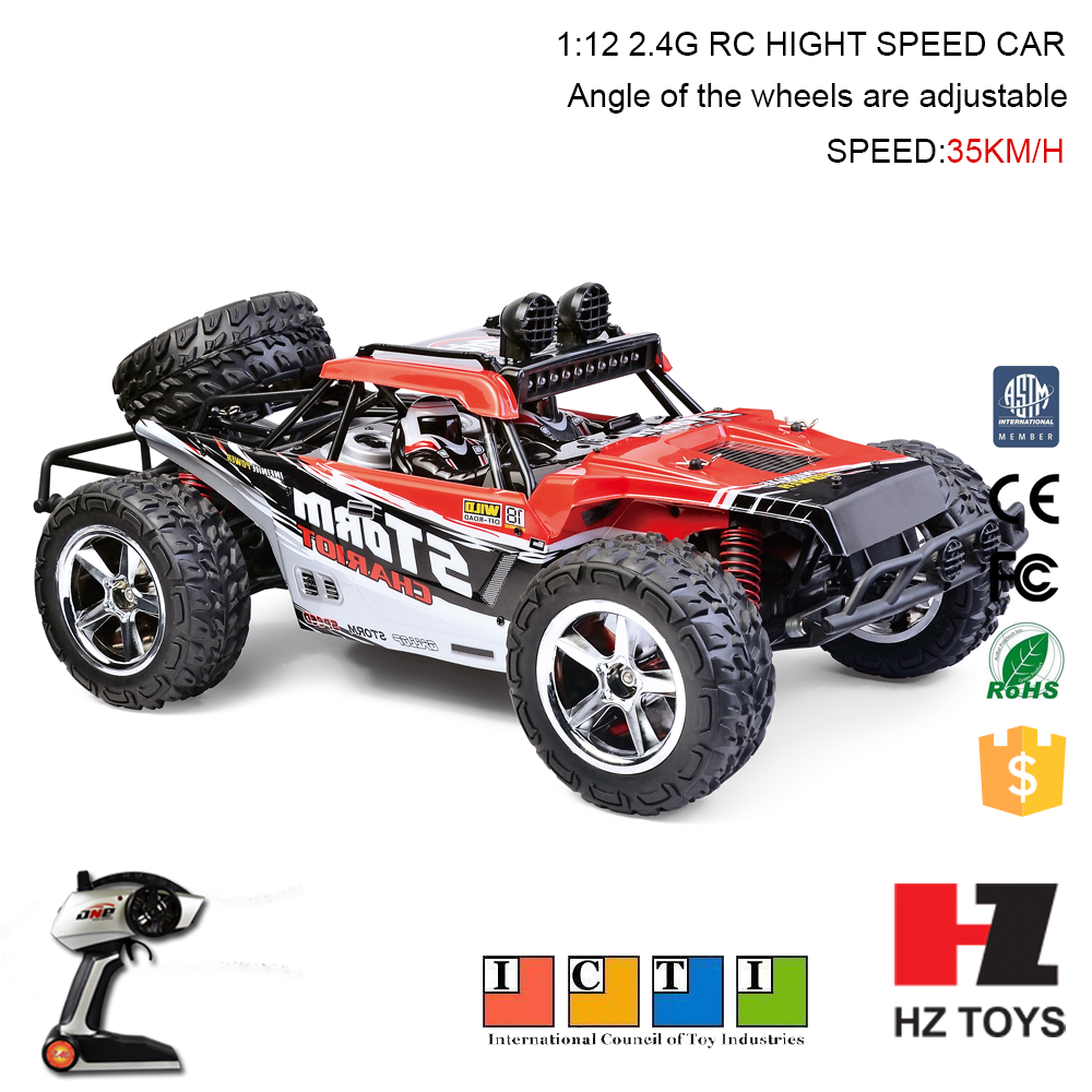 Crazy desert off-road vehicles toys 2.4G 4CH mack trucks toys, rc buggy 1:8 nitro with 35km/h.