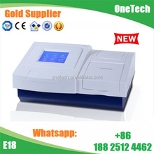 8 channel optical fiber scanning microplate cheap elisa reader price 96 well plate culture E18