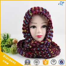 multicolor knitted scarf iceland scarf neckwarmer