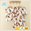 Wholesale Mother and Child clothing Cute Animal Design Girls Dresses Women Summer