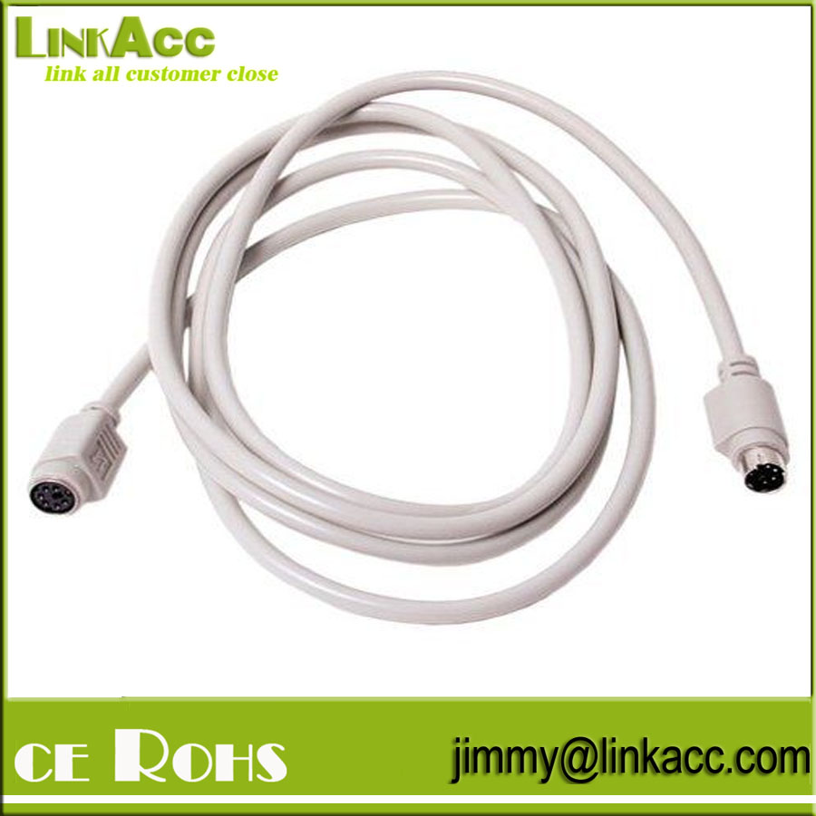 LinkYH-65 Startech.com 6ft Ps/2 Keyboard/mouse Extension Cable - 1 X Mini-din (ps/2) Male