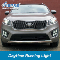 Car style 2015 SORENTO LED DAYTIME LIGHT, led drl for sorento ,fog lamp