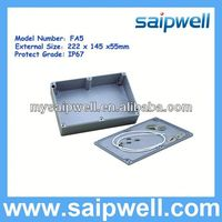 IP67 125MM*80MM*55MM ALUMINUM ELECTRONIC ENCLOSURES