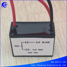ceiling fan capacitor 400v 3.5+3+5uf