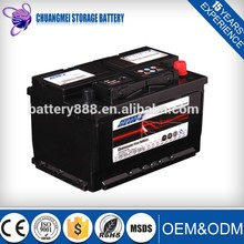 TRADE ASSURANCE SUPPLIER 12V 75AH Cheap Starting Lead Acid Auto Batteries 57217