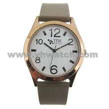 2013 Factory Cheap price supply watch strap in silicone fashion 2 colors choice hand made clock watch