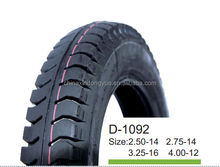 4.00-12 ,5.00-14 from china factory high quality motorcycle tire , load tyre