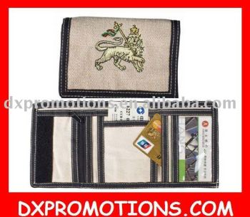 custom design canvas wallet/cash purse/custom canvas wallets