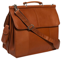 LT0689 Smart Design Leather Laptop Briefcase Bag On Sale