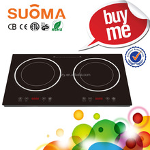 CE/CB Certificate High Qualtiy Low Price Dual Induction Cooker 2 Burner Induction Stoves