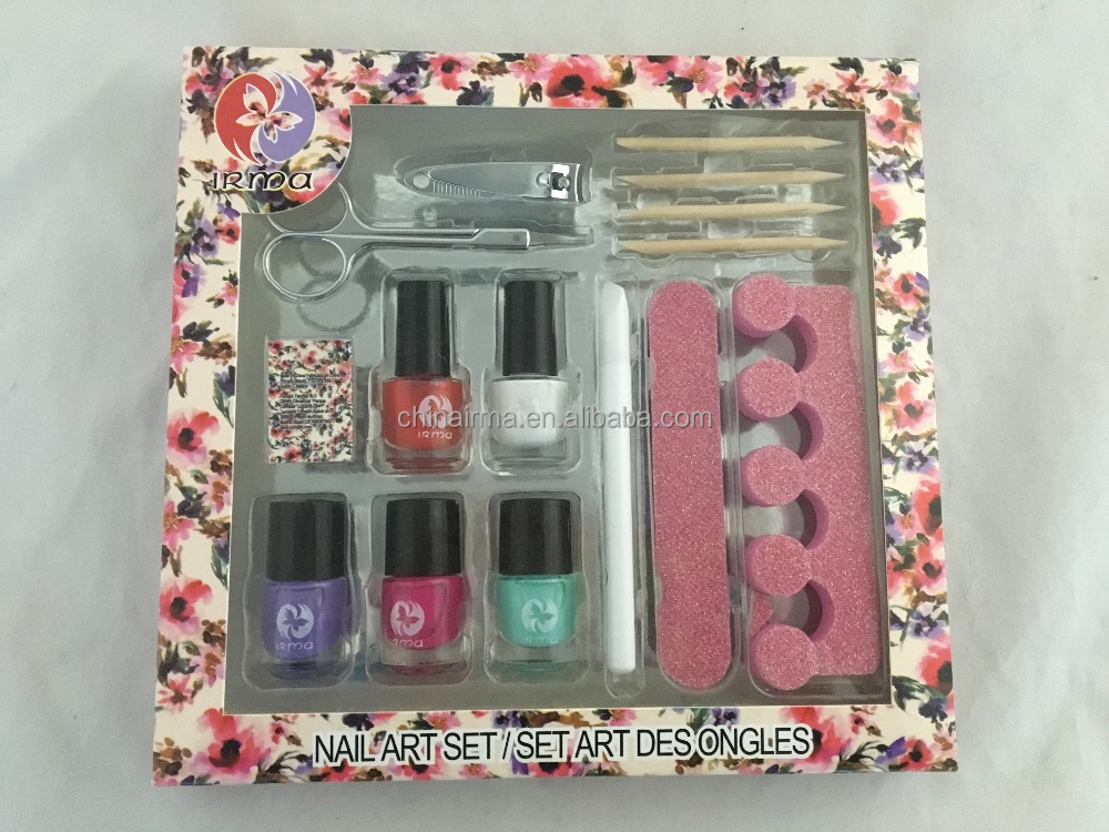 Cheap OEM manicure gift set nail polish