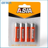r6p efficient aa bulk zinc-manganese dry cell batteries