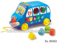 educational toy ,Musical block bus