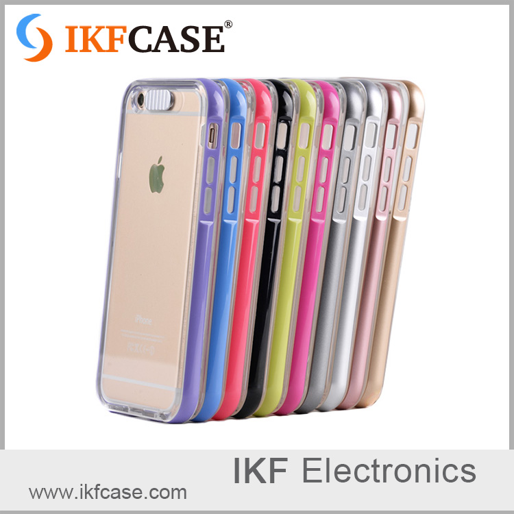 OEM high quality cheap price cell phone cover with LED calling flashing phone case for iphone 6 6S