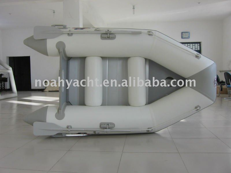 Aluminum Hull Material and CE Certification Aluminum Floor Inflatable Boats