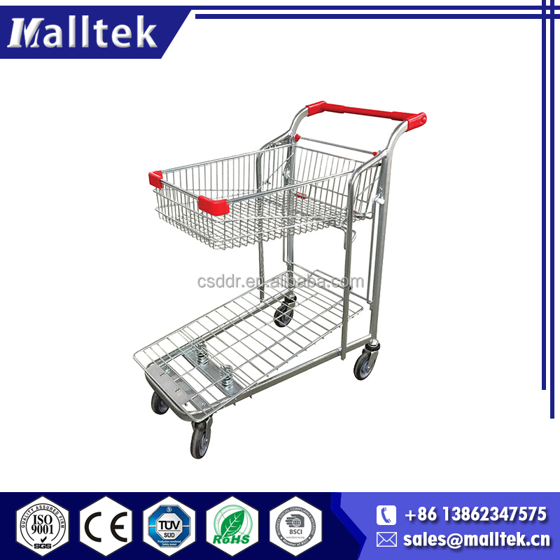 ISO Food Transport Platform Hotel Steel Transport Trolley