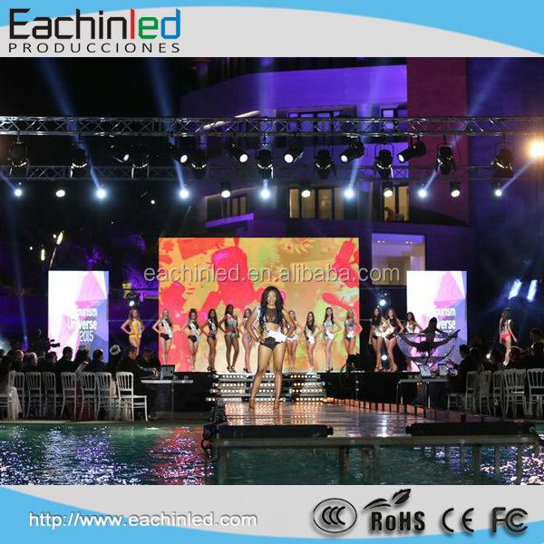 Outdoor ultra slim led display panel for rental display P4.8mm LED display