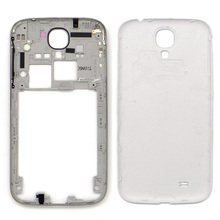 Middle Plate Frame for Samsung Galaxy S4 IV i9500 White Back Battery Housing Replacement