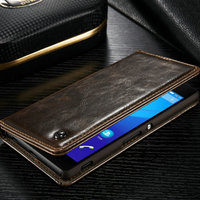 Luxury Mobile Phone Case for Xperia Sony Z4, For Sony Z4 Wallet Case, PU Leather Flip Case for Sony Z4