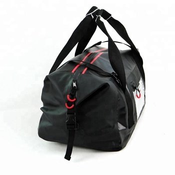 500D PVC material ODM OEM factory price waterproof outdoor sport day trips camping duffel travel bag