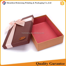 Top quality free design fancy cardboard gift packaging supplies