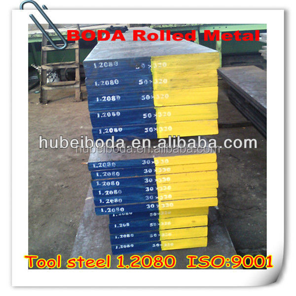 manufacture best price hot sale Hot rolled die steel 1.2080