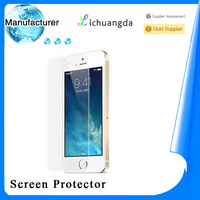manufacturer anti-broken screen protective film tempered glass for iphone 5/5s5 samsung galaxy Mobile phone accessory