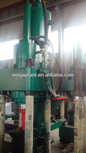 hydraulic drive scrap mental briquette making machine and Aluminium ash briquette machine