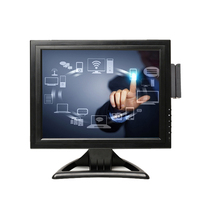 cheap touch screen monitor, touch screen monitor with MSR