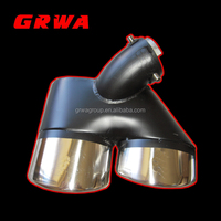 New Style High Quality Stainless Steel Exhaust System Tips for W211 AMG