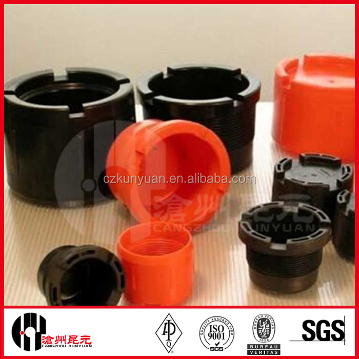 API 5CT High Quality Plastic All Size NEW VAM Drill Pipe Thread Protector for OCTG Accessories