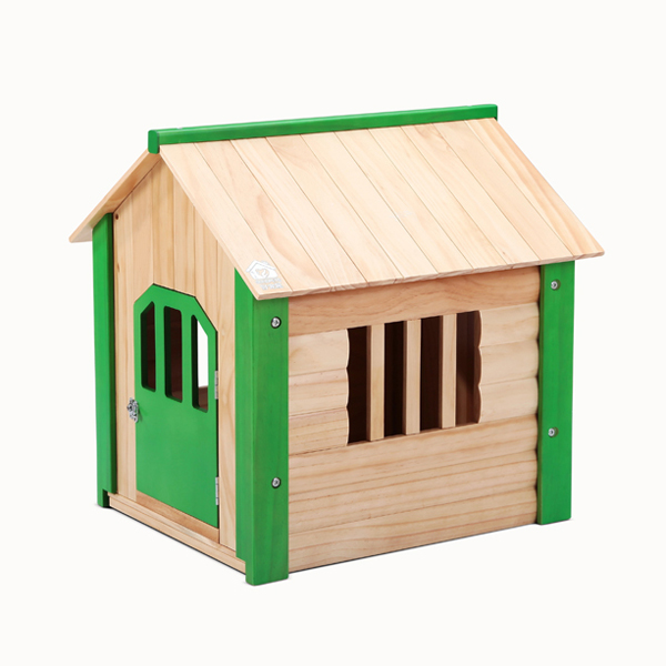 2017 wood pet house dog house with safe lock