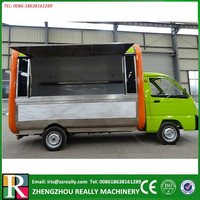 Customized Multifunctional Fast Food Van/Mobile Kitchen Truck/Street food kiosk trailer
