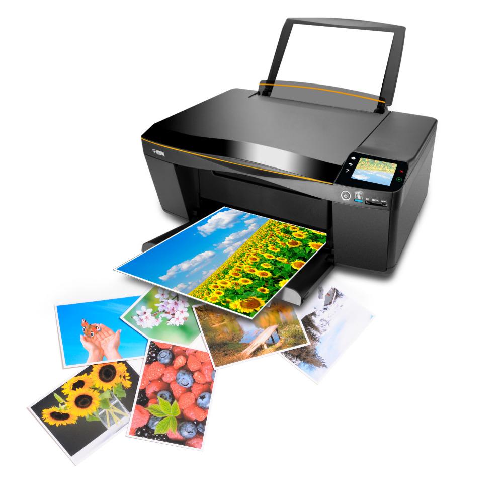 бумага А4 ; наклейка А4 ; струйный принтер;
